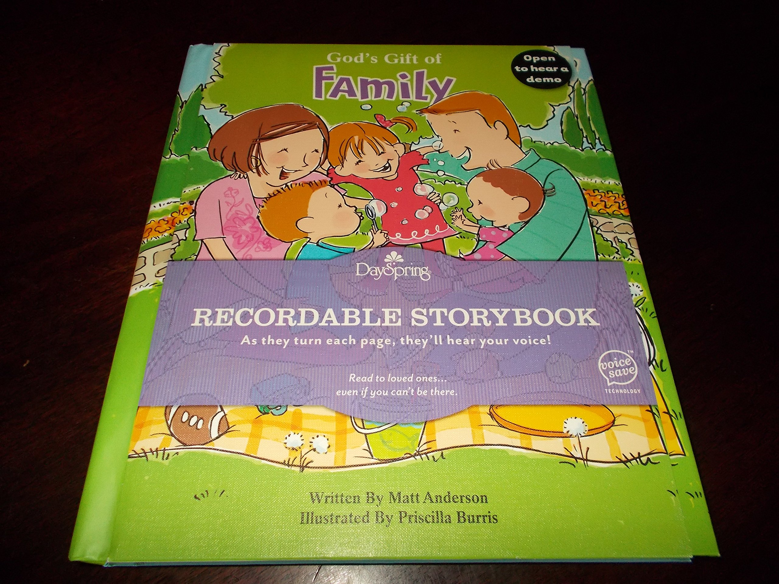 Download Recordable Storybook-Gods Gift Of Family ebook