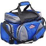 BERKLEY TASCHEN MIT KÖDERBOXEN System Bag L BLUE-GREY -BLACK + 4 boxes und Kühlfach