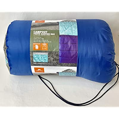 OZARK-Trail Youth Sleeping Bag Camping Indoor Outoor Traveling - campout Design: Sports & Outdoors