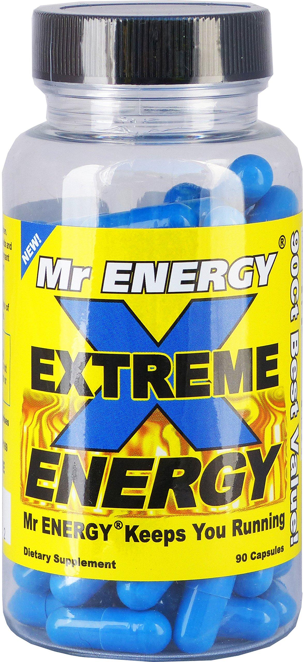 Mr ENERGY EXTREME ENERGY Pills 90 Capsules by Mr ENERGY