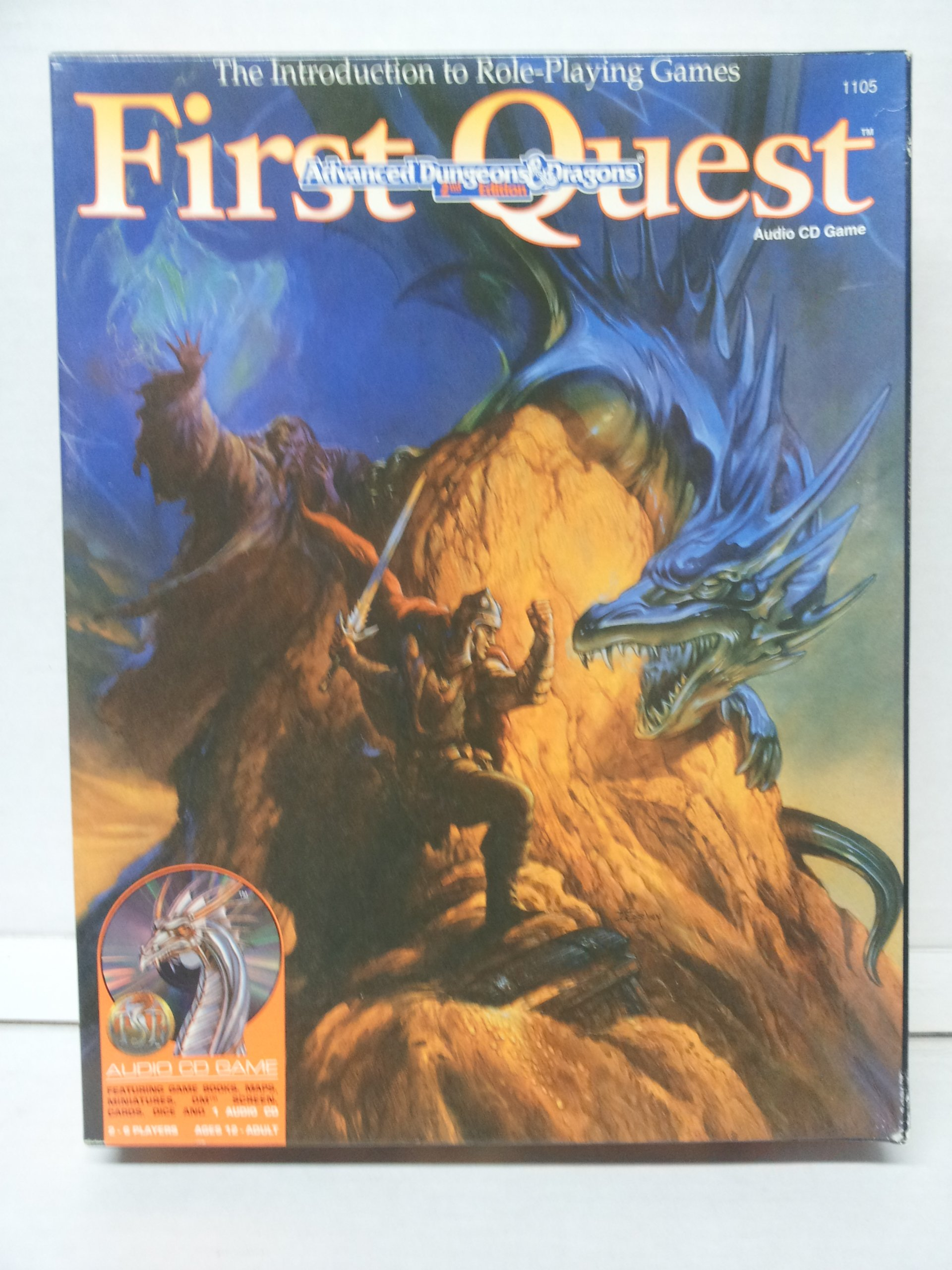First Quest/Audio Cd Game (Advanced Dungeons & Dragons 2nd Edition) by Wizards of the Coast