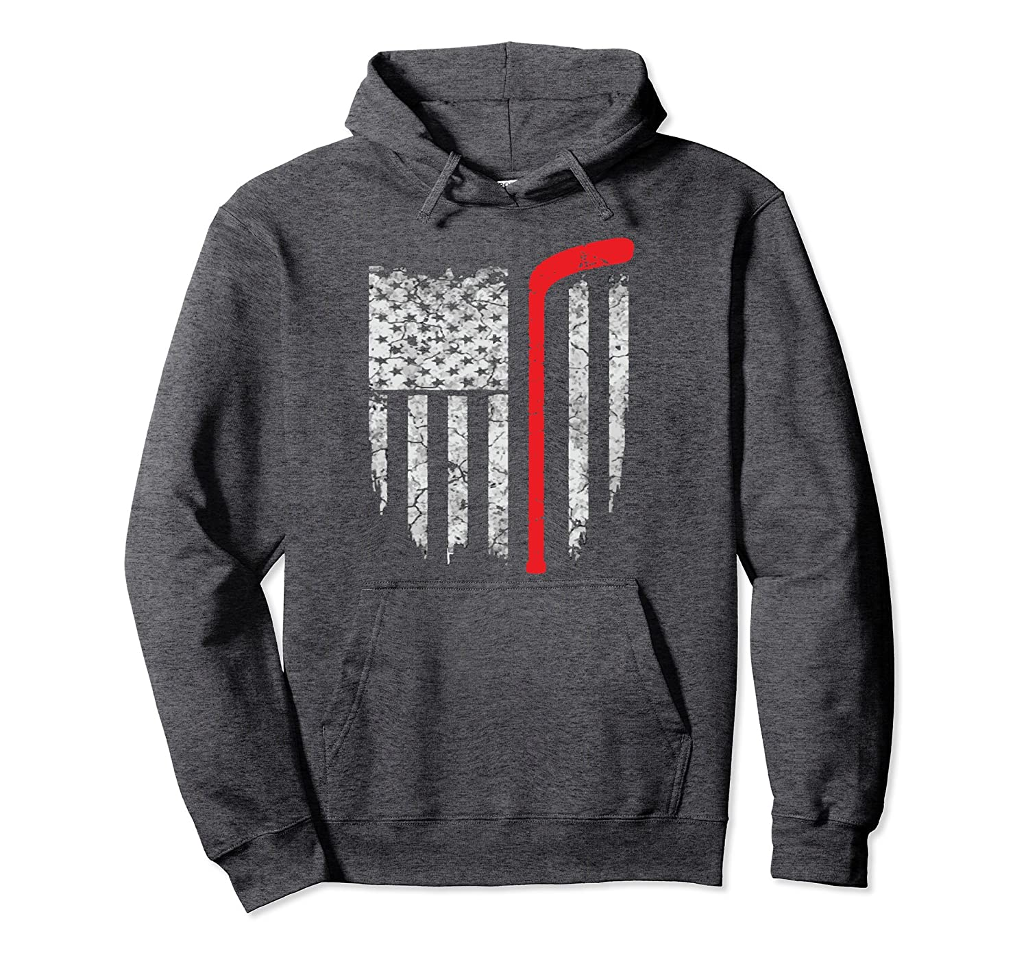 Hockey American Flag Hoodie Hockey Hoodie Hoodies