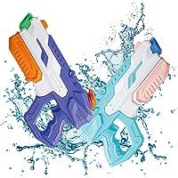IONCAT Water Guns for Kids, 2 Pack Super Squirt Guns, Water Soaker Blaster, 650CC High Capacity, 35 Feet Long Shooting…