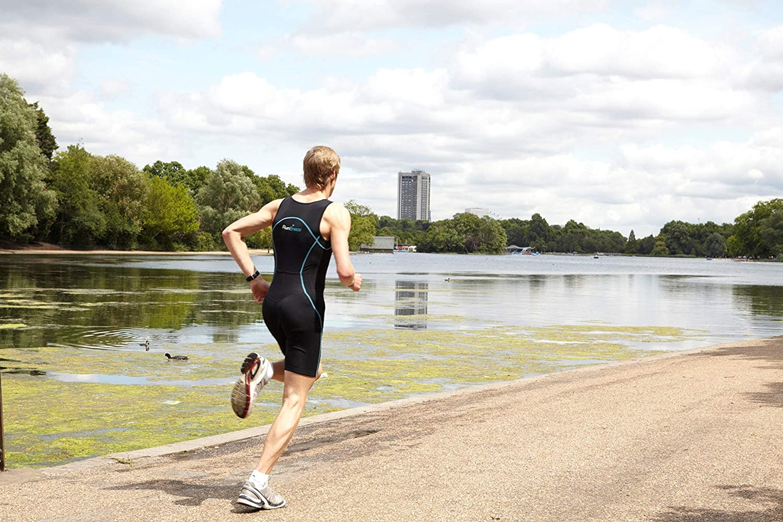 Amazon.com: RunBreeze Traje de triatlón para hombre ...