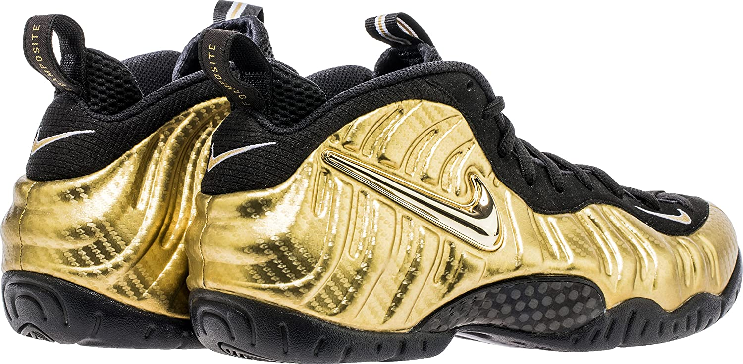 19c299e4094 ... new zealand amazon nike air foamposite pro men metallic gold black  white 624041 701 basketball 18f9c