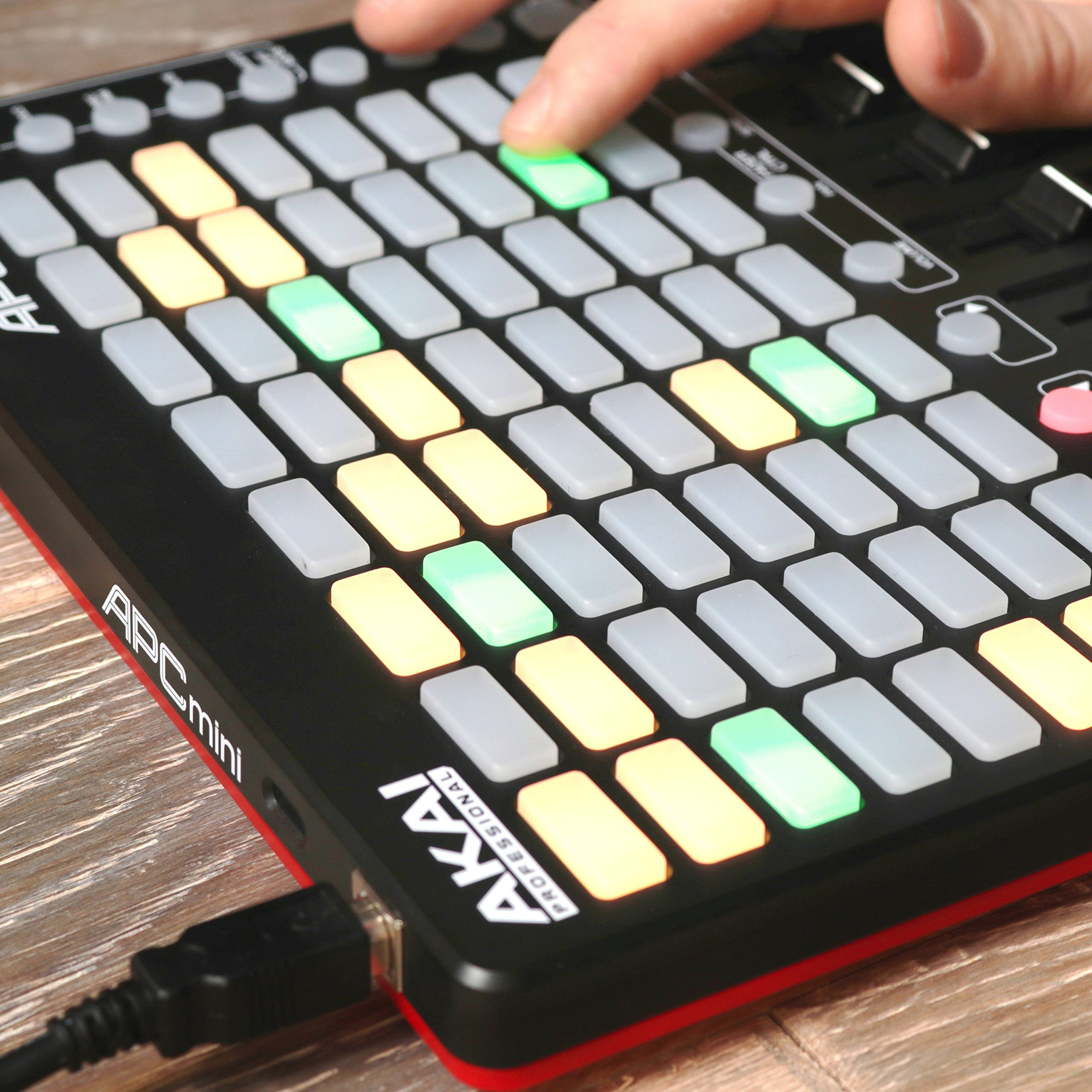 Akai Professional APC Mini | Compact Ableton Live controller with Ableton Live Lite Download (8x8 Backlit Clip-Launch Grid) by Akai (Image #2)