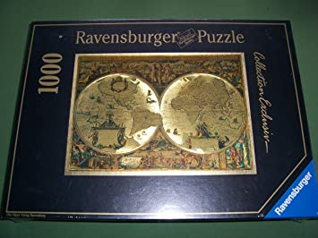 Ravensburger historical map of the world 1000 piece jigsaw amazon ravensburger historical map of the world 1000 piece jigsaw gumiabroncs Gallery