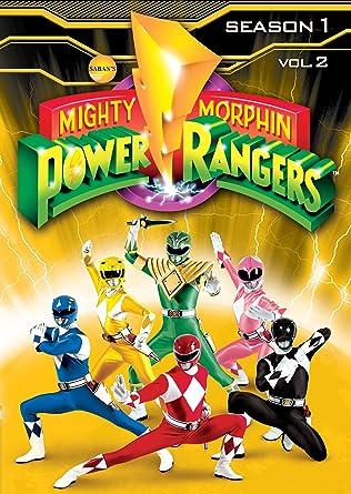Mighty Morphin Power Rangers: Season One Vol Two Reino Unido DVD: Amazon.es: Cine y Series TV