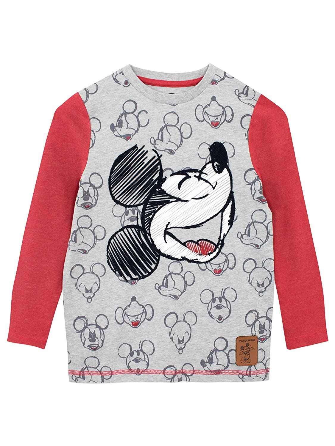 Disney Boys' Mickey Mouse Long Sleeved Top
