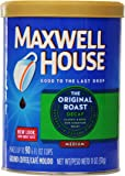 Maxwell House Original Blend Decaf Ground Coffee, Medium Roast, 11 Ounce Canister (Pack of 6)