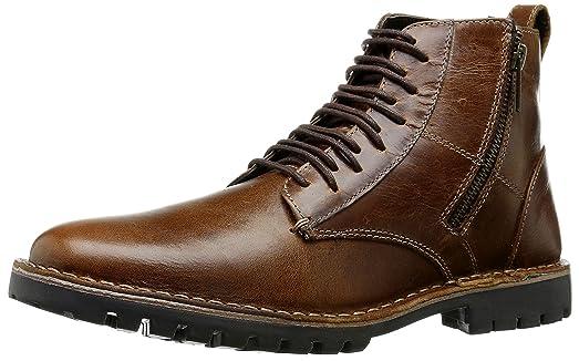Steve Madden Men's Norlyns Combat Boot, Cognac, ...