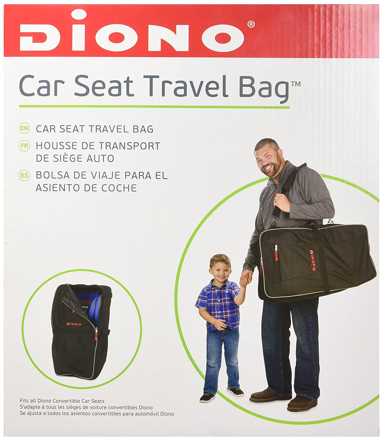 Amazon Diono Car Seat Travel Bag Black Baby