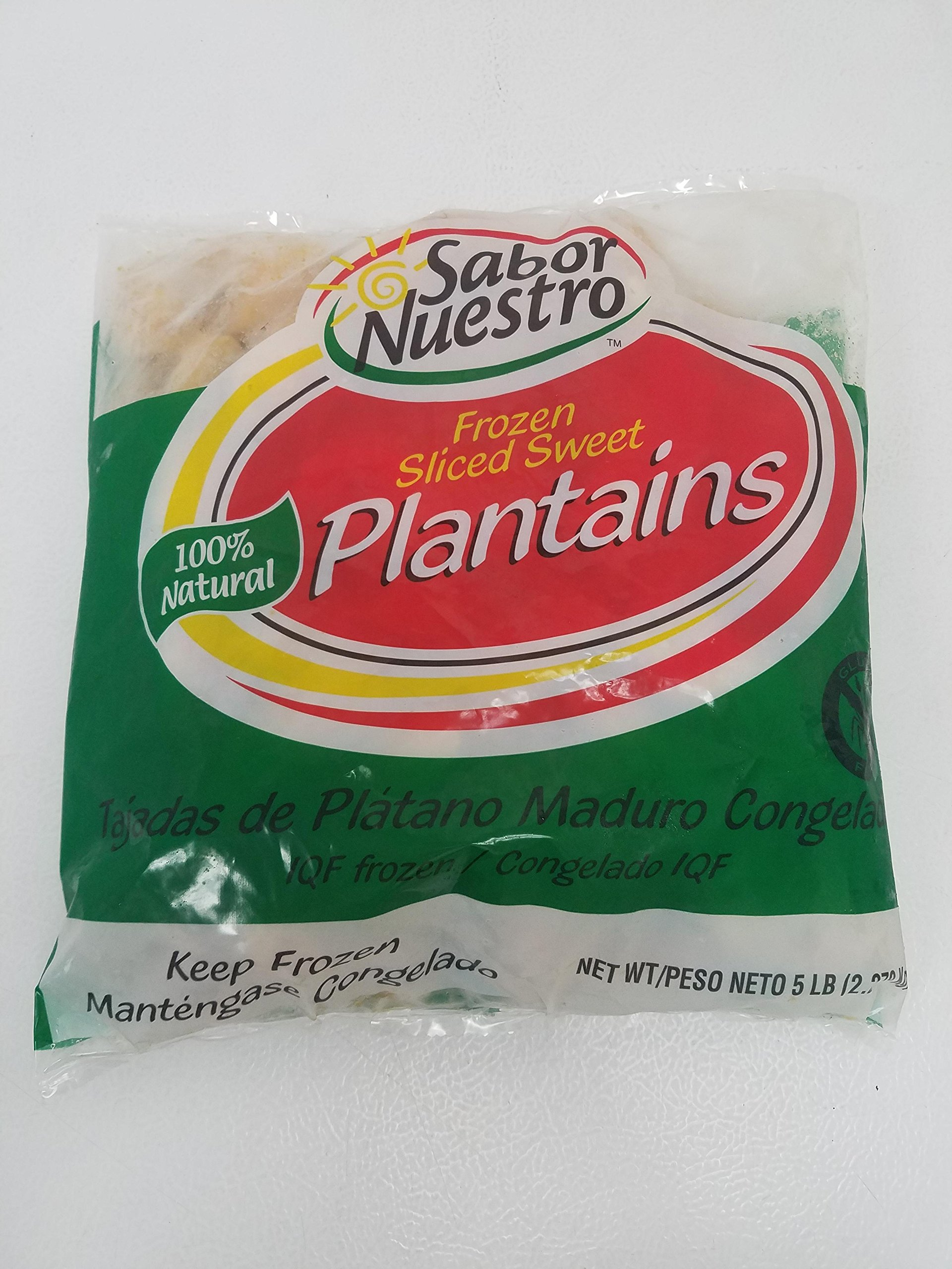 Frozen Sliced Sweet Plantains by Sabor Nuestro