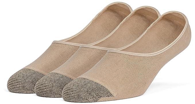 Galiva Calcetines ligeros de algodón para hombre, calcetines cortos, invisibles, sin mostrar - 3 pares: Amazon.es: Ropa y accesorios