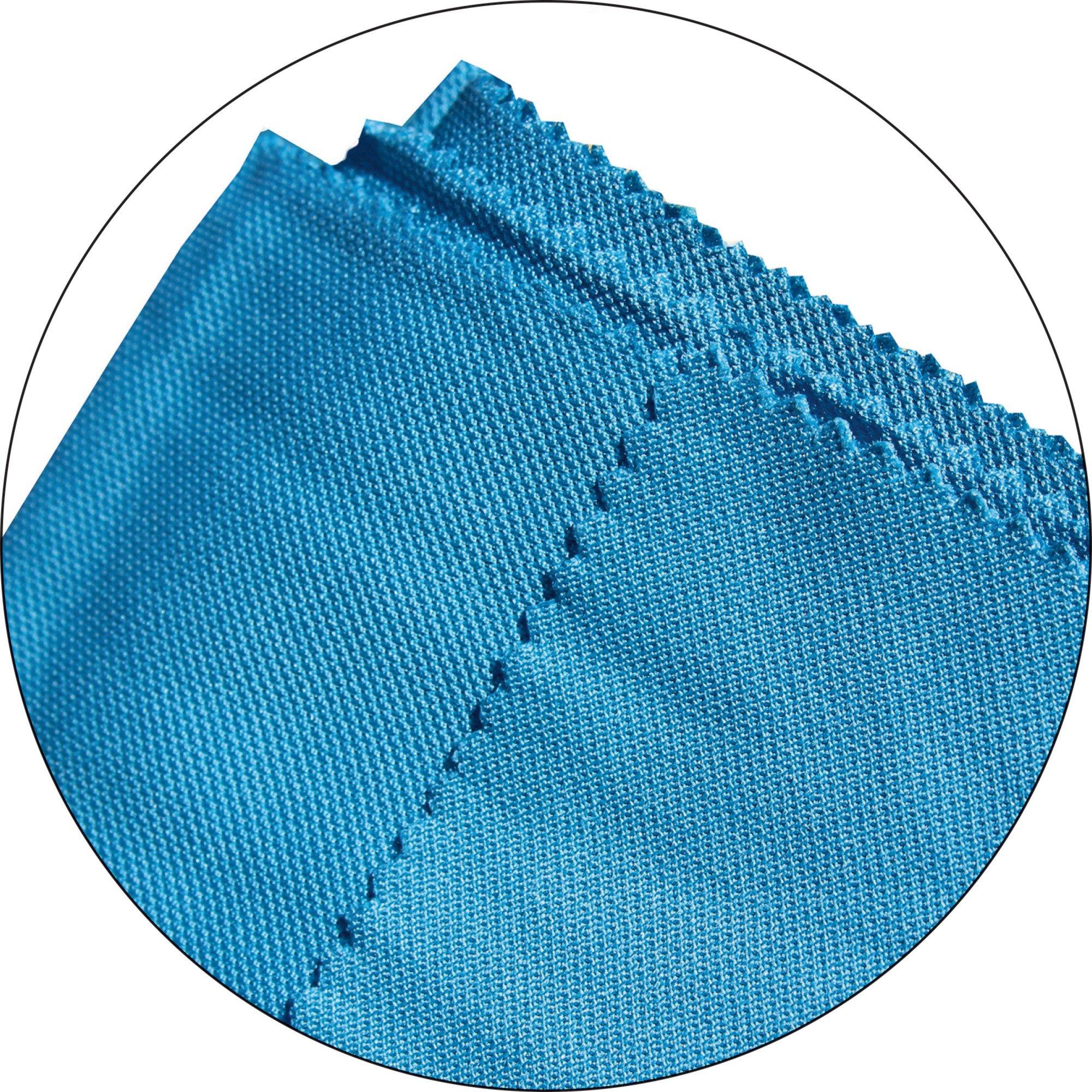 Glass & Polishing Cloth - Brilliant for Sparkling Windows, Mirrors, Glassware, Chrome, and More by E-Cloth (Image #4)