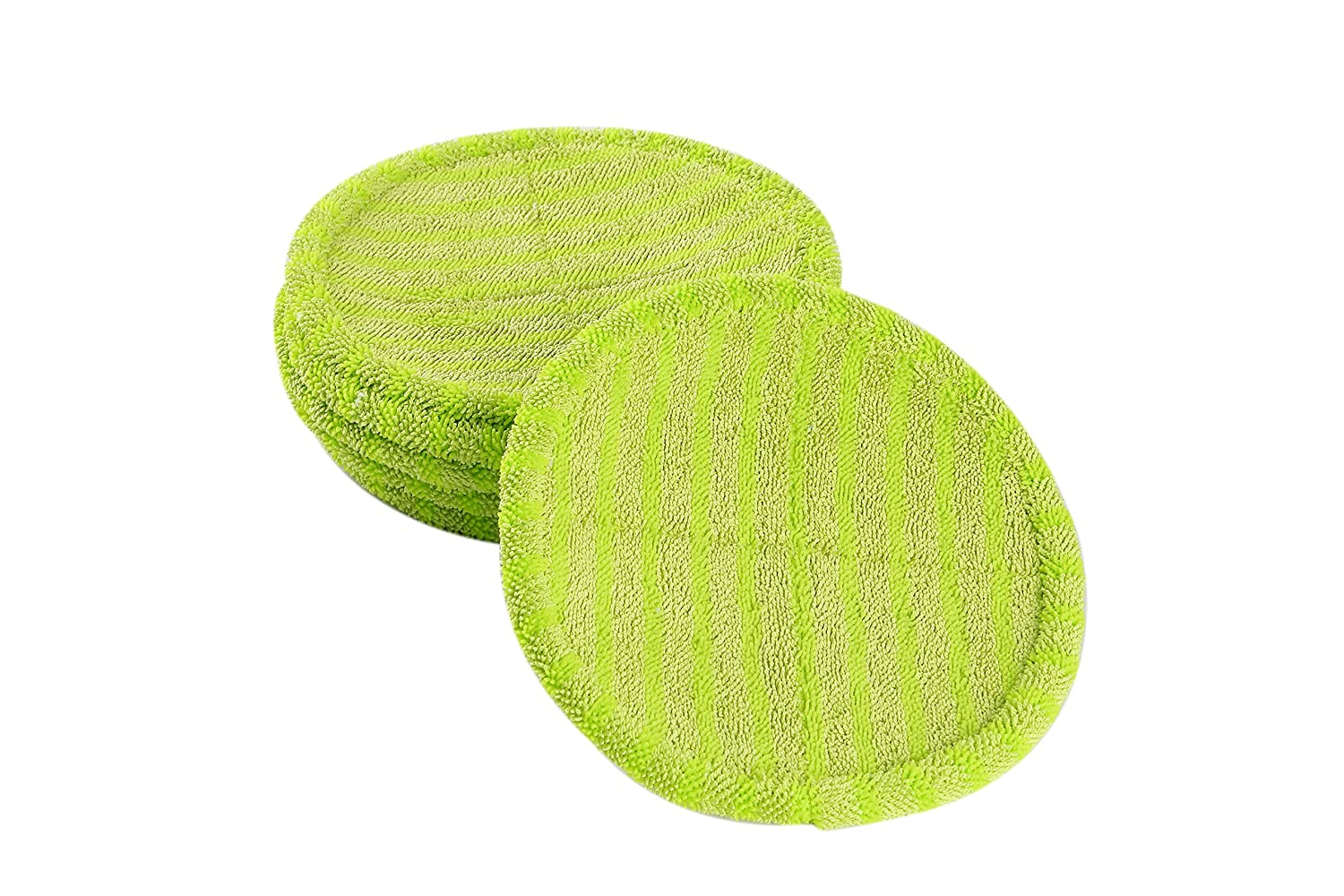 LTWHOME Replacement Scrubby Mop Pads Fit for Bissell Spinwave 2039 Series 2039A 2124 (Pack of 6) NingboHaishuHuaxinYichengTradeCo. Ltd.