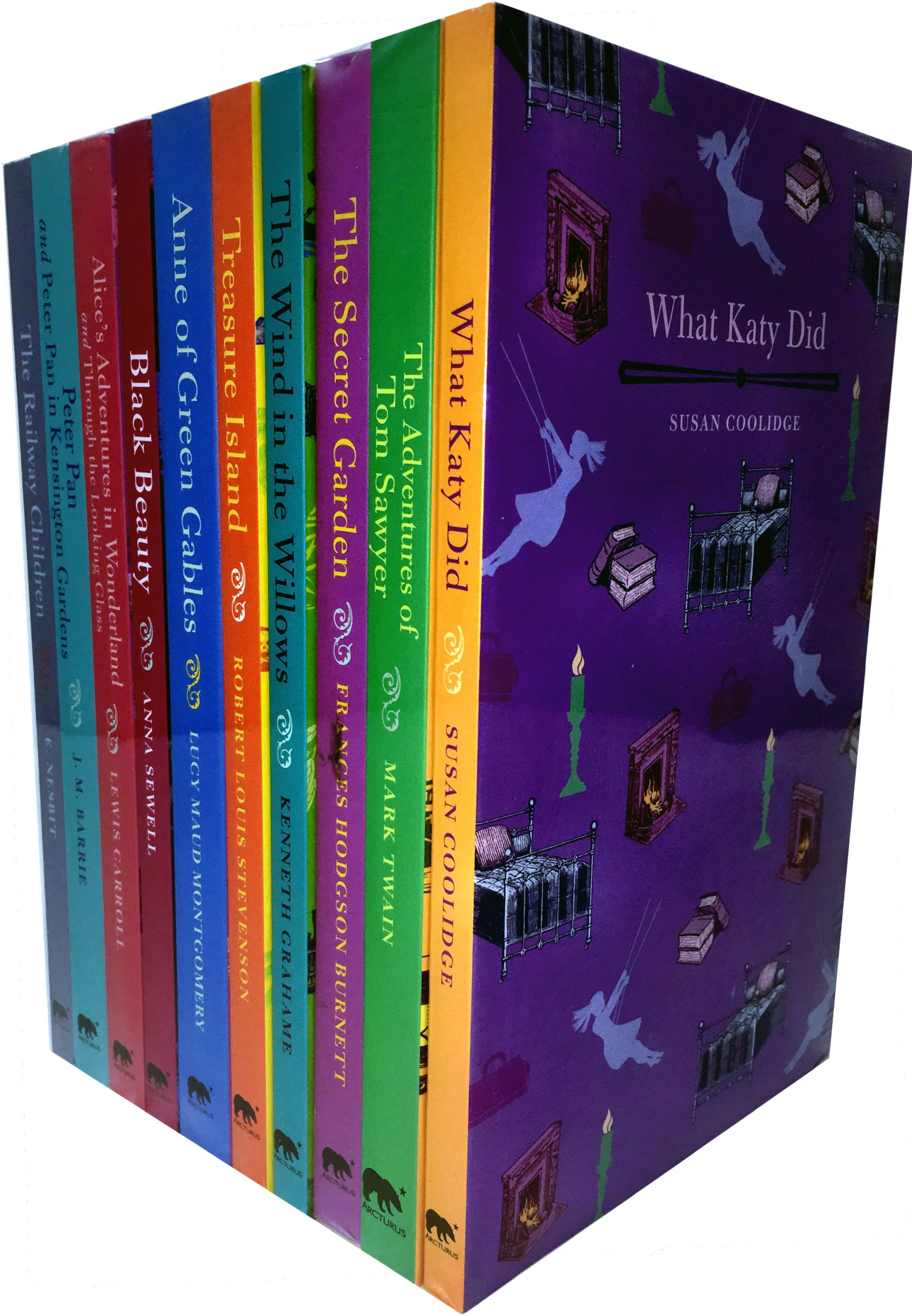Read Online Childrens Classics Collection 10 Books Set (The Secret Garden, Anne of Green Gables, Black Beauty, Treasure Island, Peter Pan in Kensington Gardens, The Adventures of Tom Sawyer, Peter Pan) PDF