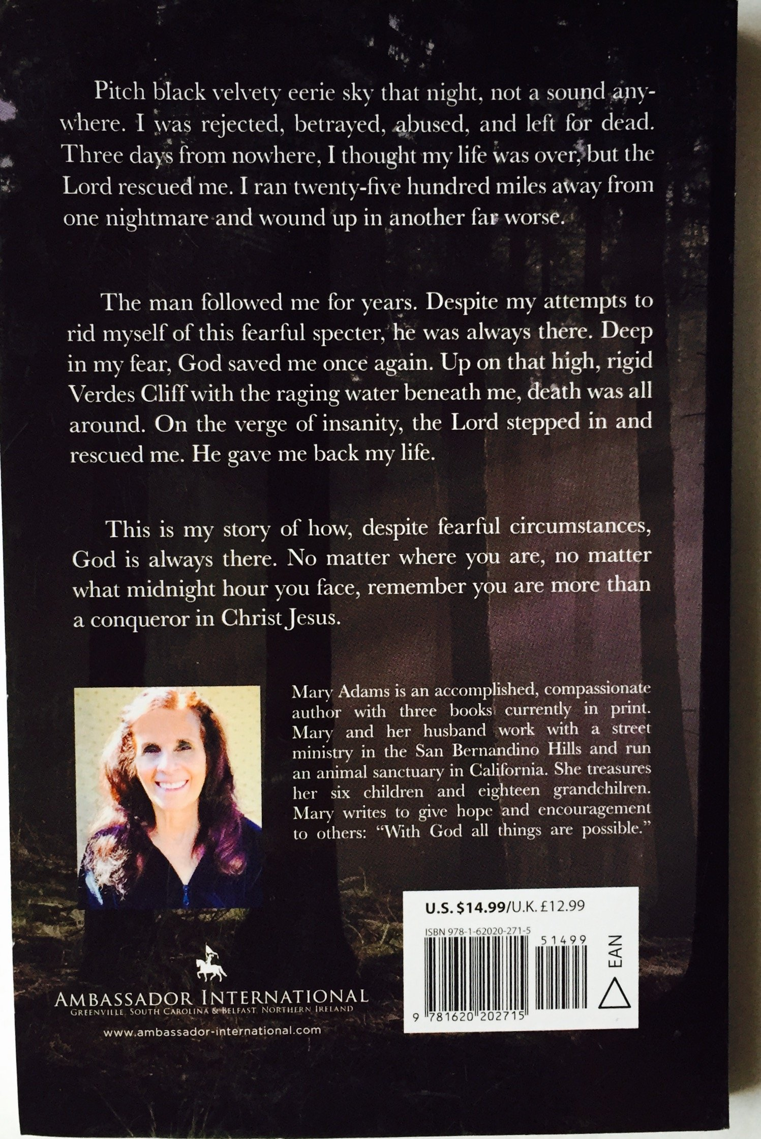 Five Hours Before Midnight: A Story Of Fear, Faith, And Survival: Mary  Adams: 9781620202715: Amazon: Books