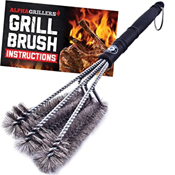 Alpha Grillers Durable BBQ Grill Cleaner