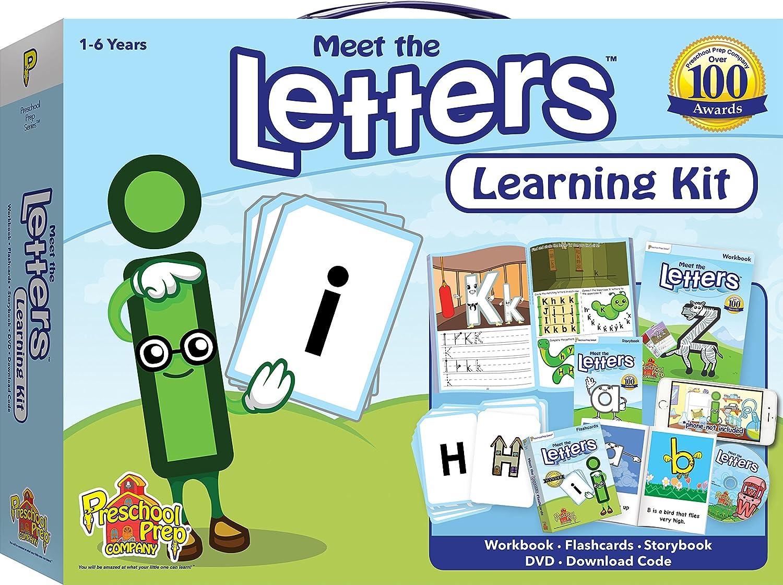 Amazon.com: Meet the Letters Learning Kit: Preschool Prep Company ...