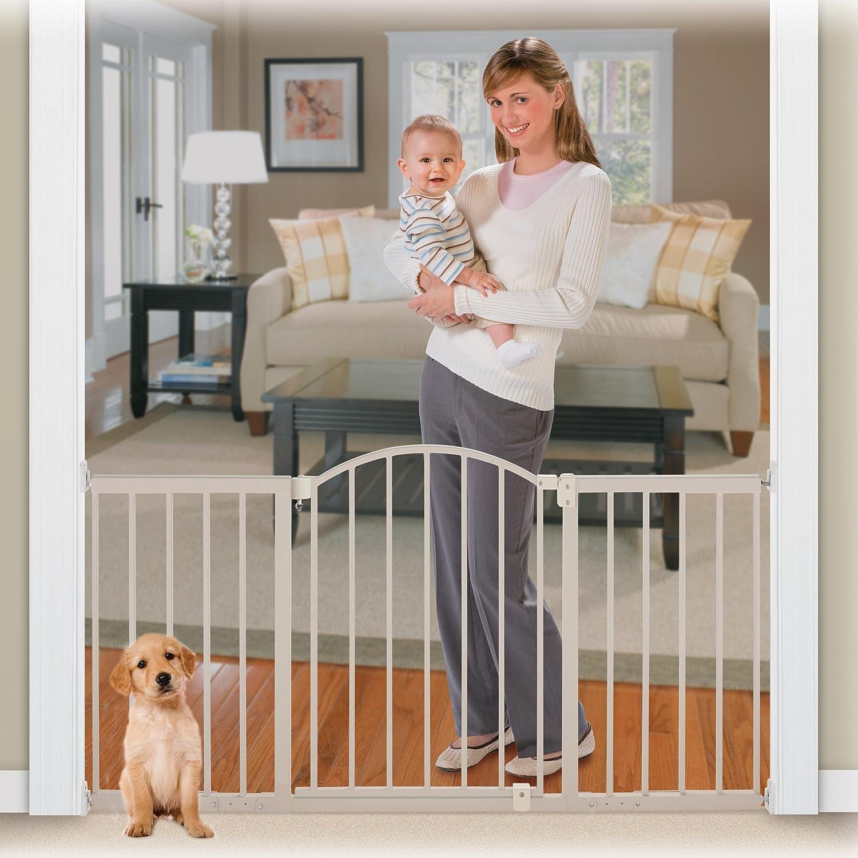 amazoncom  summer infant metal expansion gate  foot wide walk  - amazoncom  summer infant metal expansion gate  foot wide walkthru indoor safety gates  baby