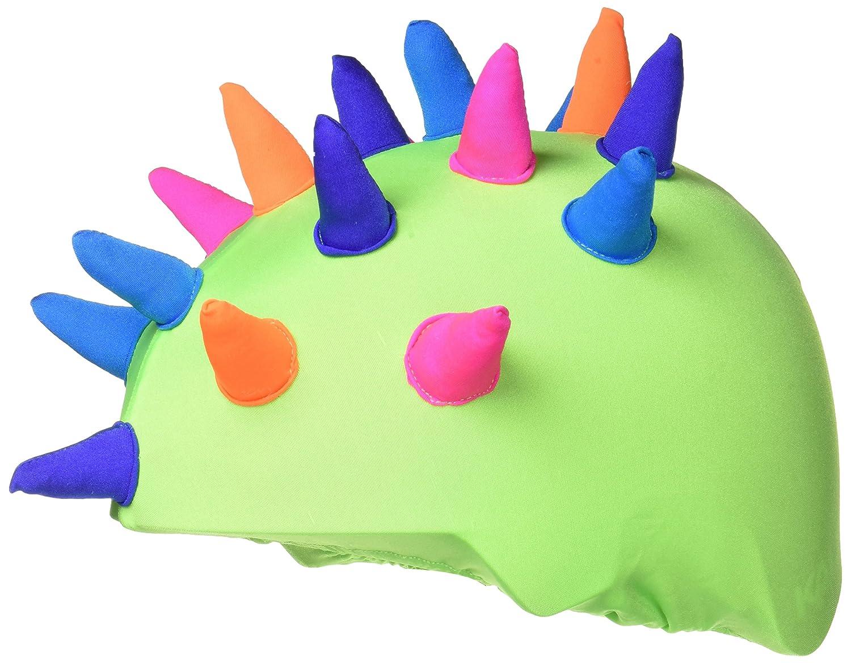 COOLCASC Show Time Corns de Neon Couvre Casque Mixte Enfant, Multicolore COOUW|#Coolcasc CCCN