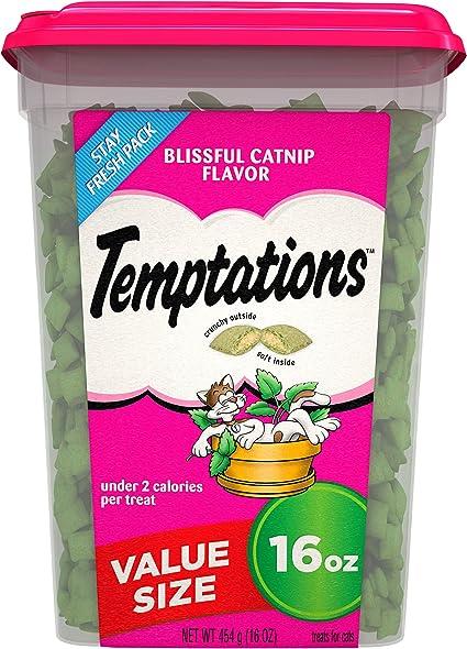 Amazon Com Temptations Classic Crunchy And Soft Cat Treats