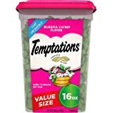 Temptations Classic Crunchy and Soft Cat Treats, 16 oz. Tub