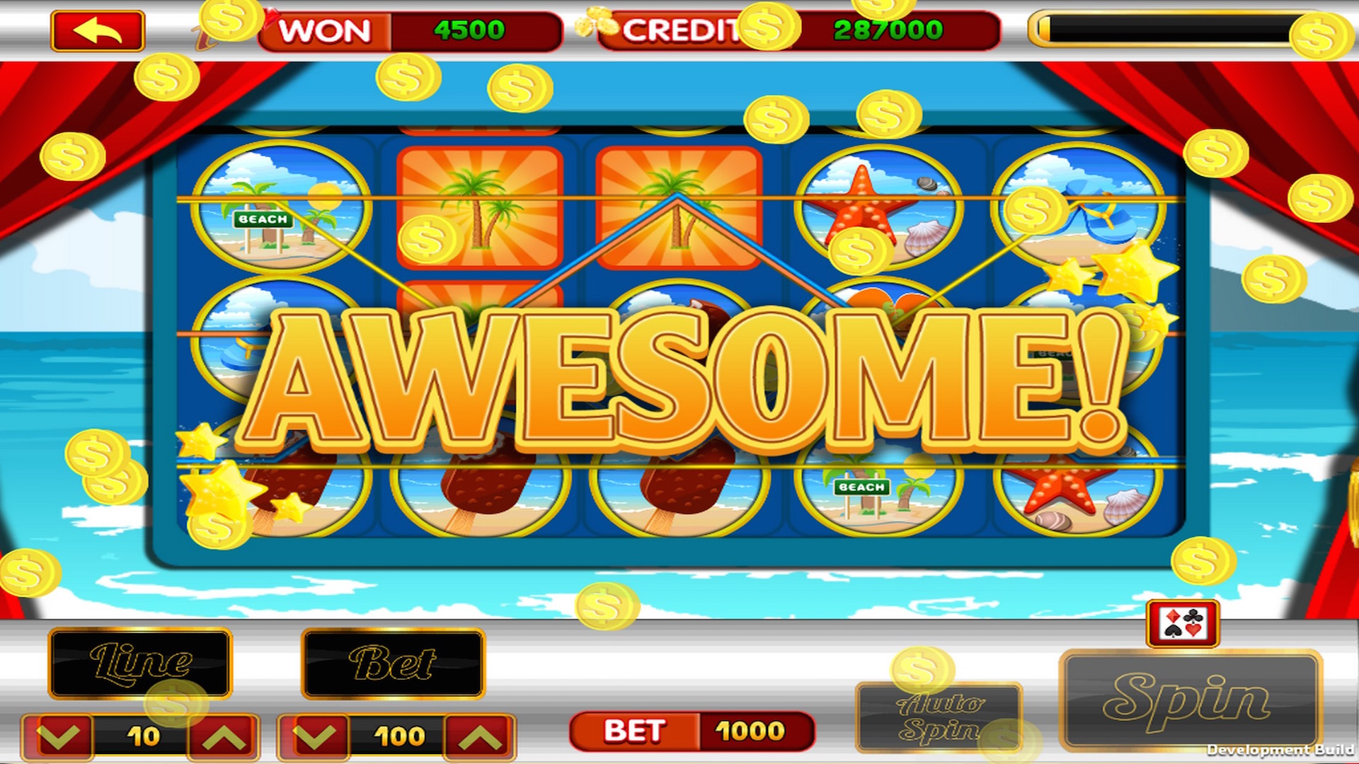 Slots lucky las vegas big vacation free casino video for Fish casino slot