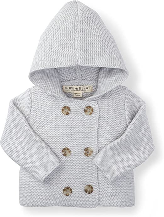 Hope /& Henry Layette Cardigan and Sweater Leggings Set