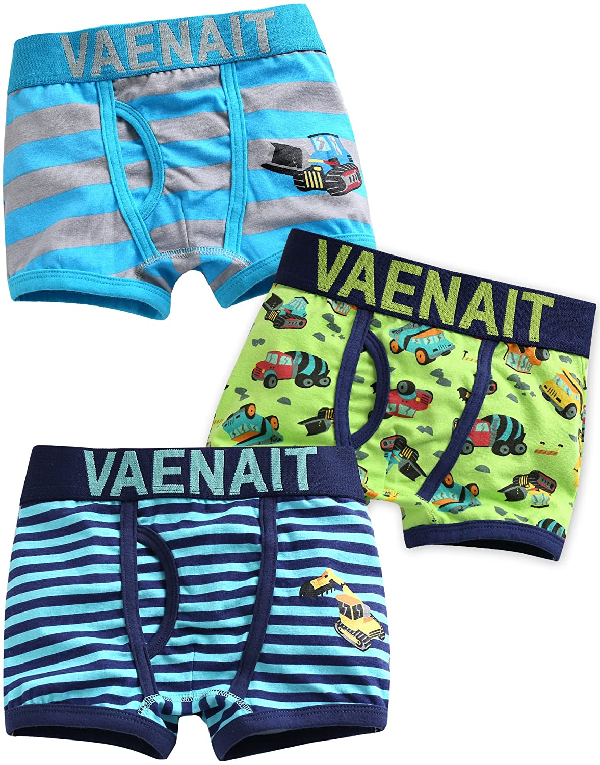 Vaenait baby 2-7 Years Boys 100/% Cotton Underwear Briefs 3 Pack Set Boxer Crane
