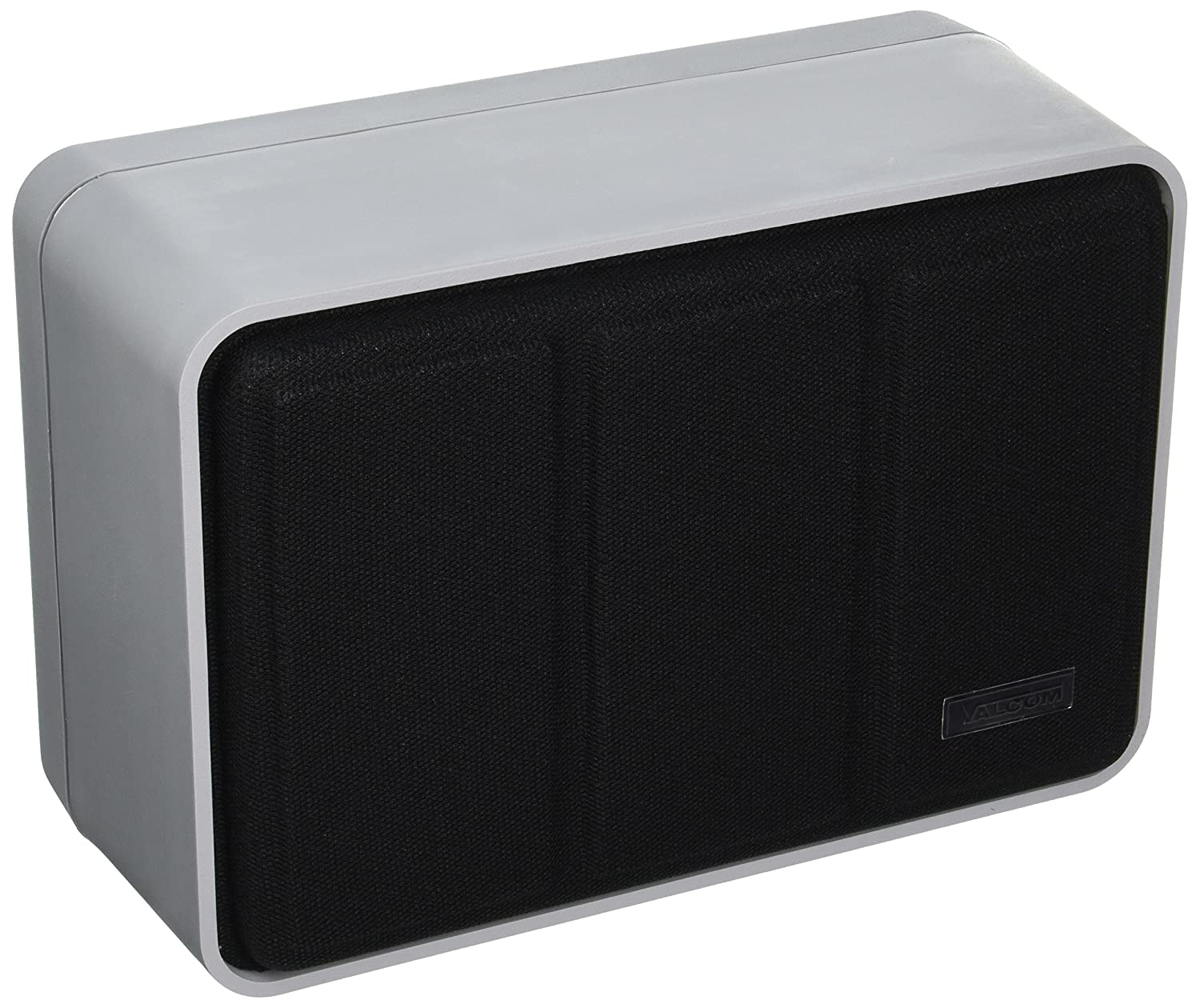 Valcom V-1440-GY Hi Fi Signature Series Monitor Speaker with Black Grille Gray