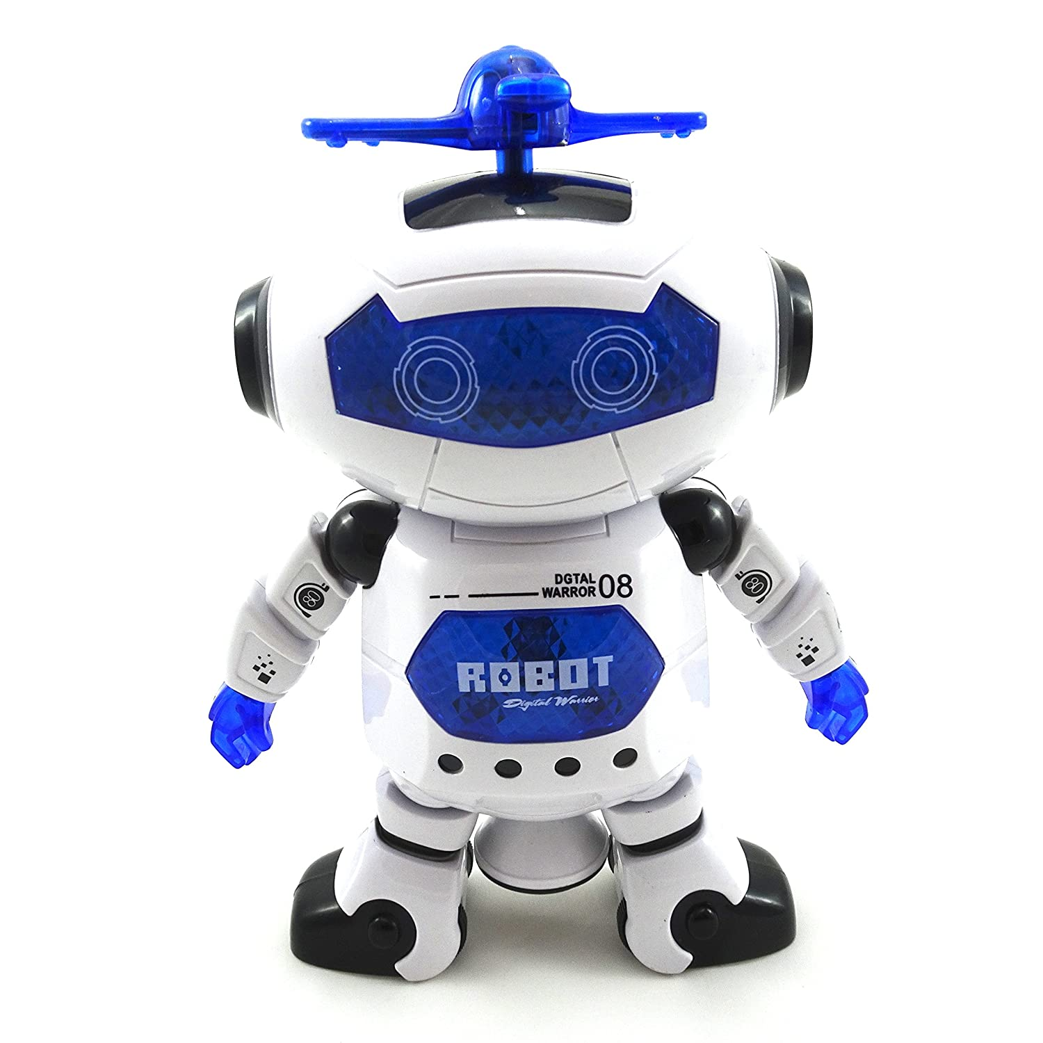 Amazon Env Toys Lights and Music Dancing Robot Toy for Kids