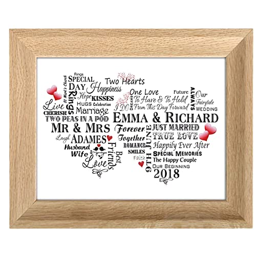 Wedding Gifts for Bride and Groom Photo Frames: Amazon.co.uk