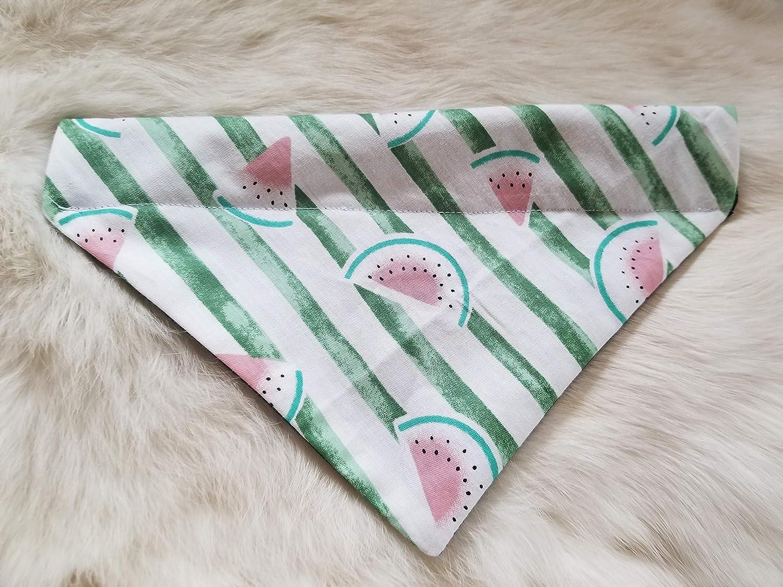 Watermelon Over the Collar Dog Bandana Small