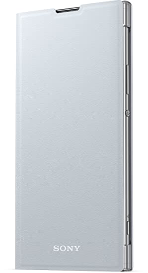 the best attitude 2453a 9cd8a Sony Mobile Xperia XA2 Ultra Style Protective Cover Stand Case -  White/Silver
