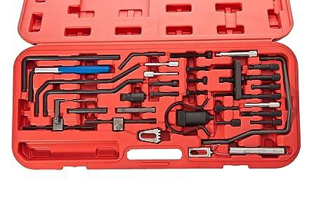 Árbol de levas cigüeñal coche reparación juego de herramientas para encendido de motor Citroën y Peugeot: Amazon.es: Coche y moto