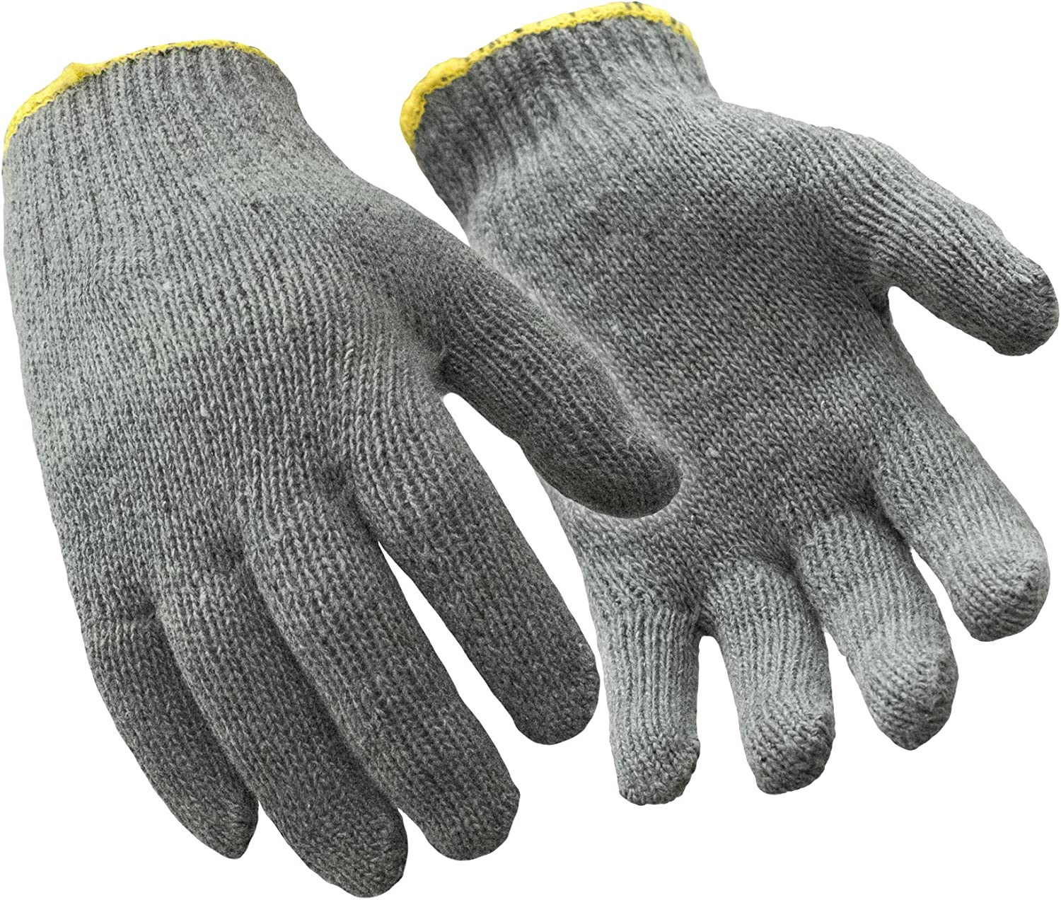 RefrigiWear Lightweight Cotton String Knit Glove Liners Natural 12 Pairs