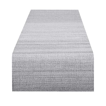 Delindo Lifestyle Camino de mesa SAMBA gris, impermeable ...