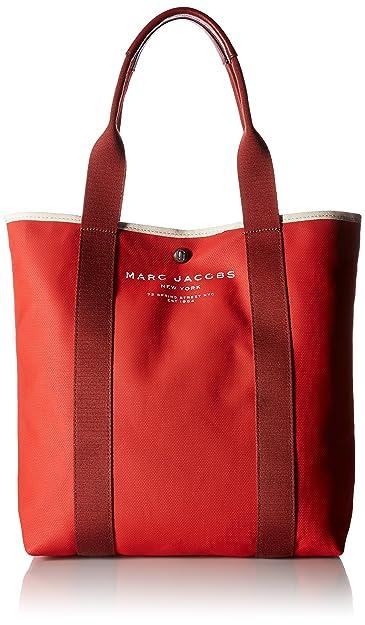 60df04e5c4a6 Amazon.com  Marc Jacobs Women s Canvas Shopper Ns Tote