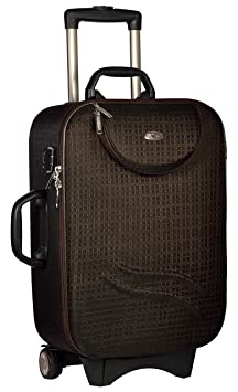 Trekker Polyester Matty 50 cms Brown Softsided Cabin Bag  TTB SPECTRA20 BR  Suitcases   Trolley Bags
