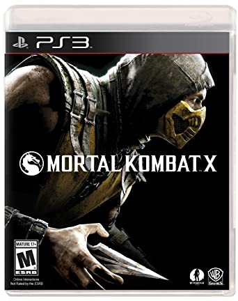 Amazon Com Mortal Kombat X Playstation 3 Video Games