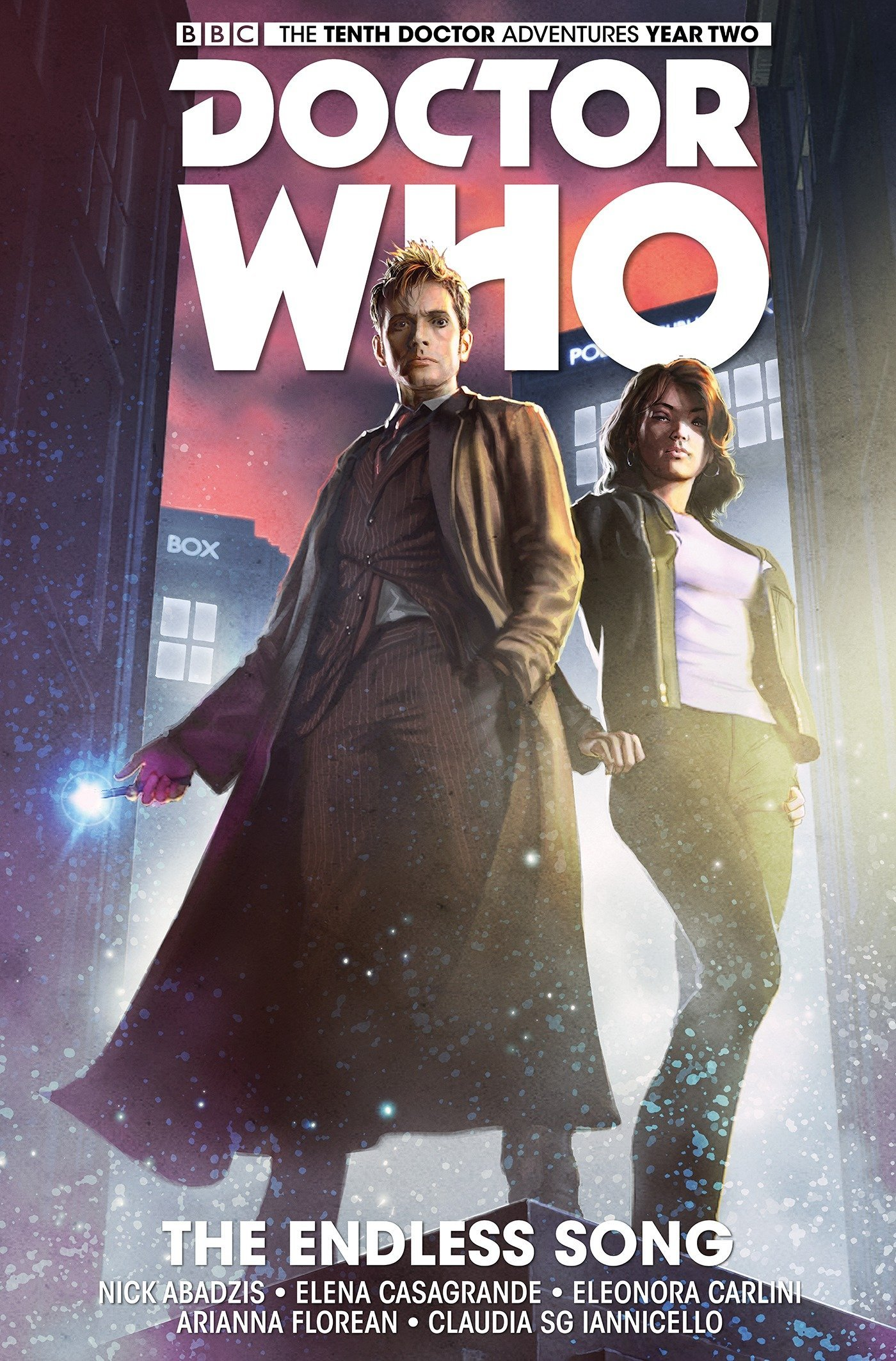 Download Doctor Who: The Tenth Doctor Volume 4 - The Endless Song pdf epub