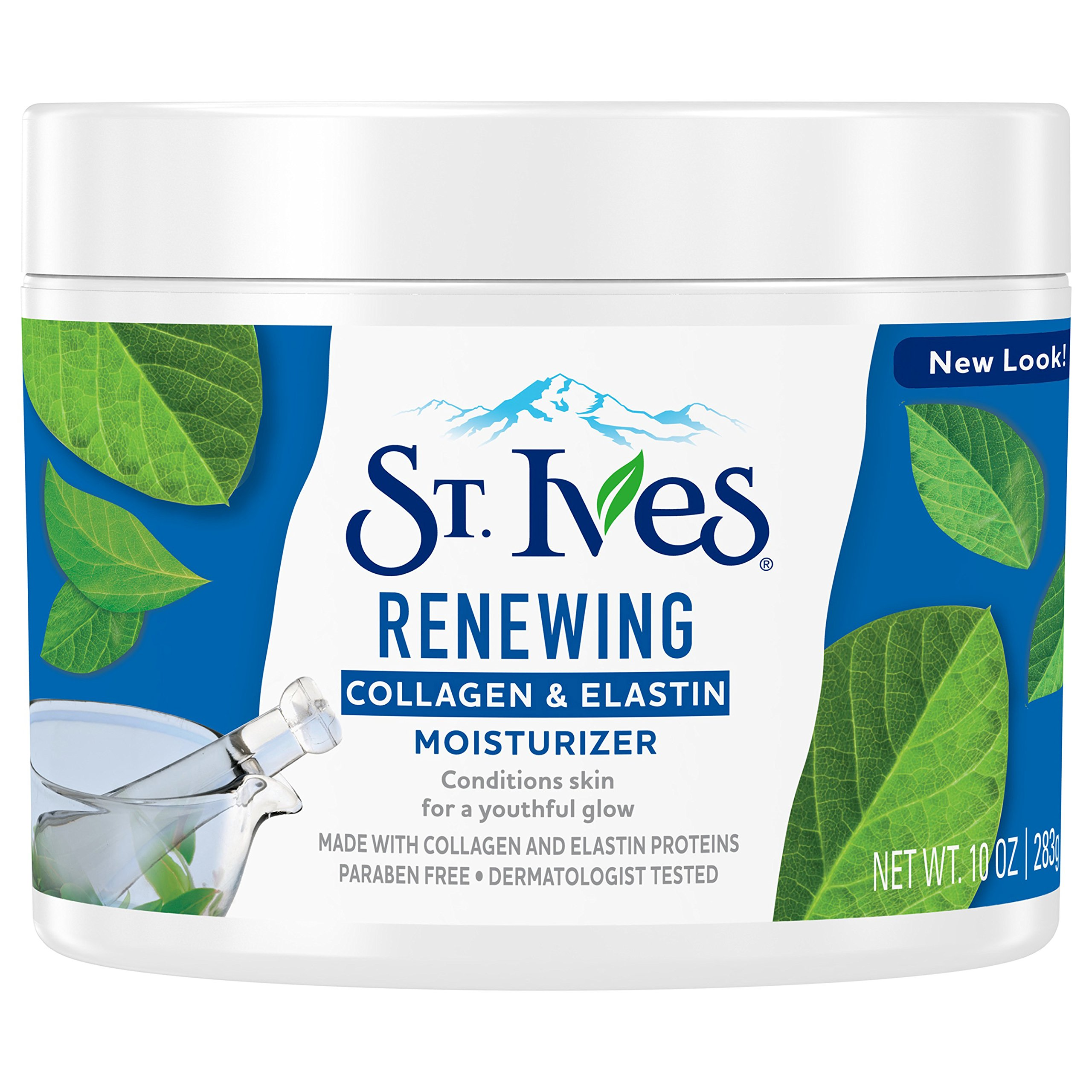 St. Ives Renewing Facial Moisturizer, Collagen Elastin, 10 oz