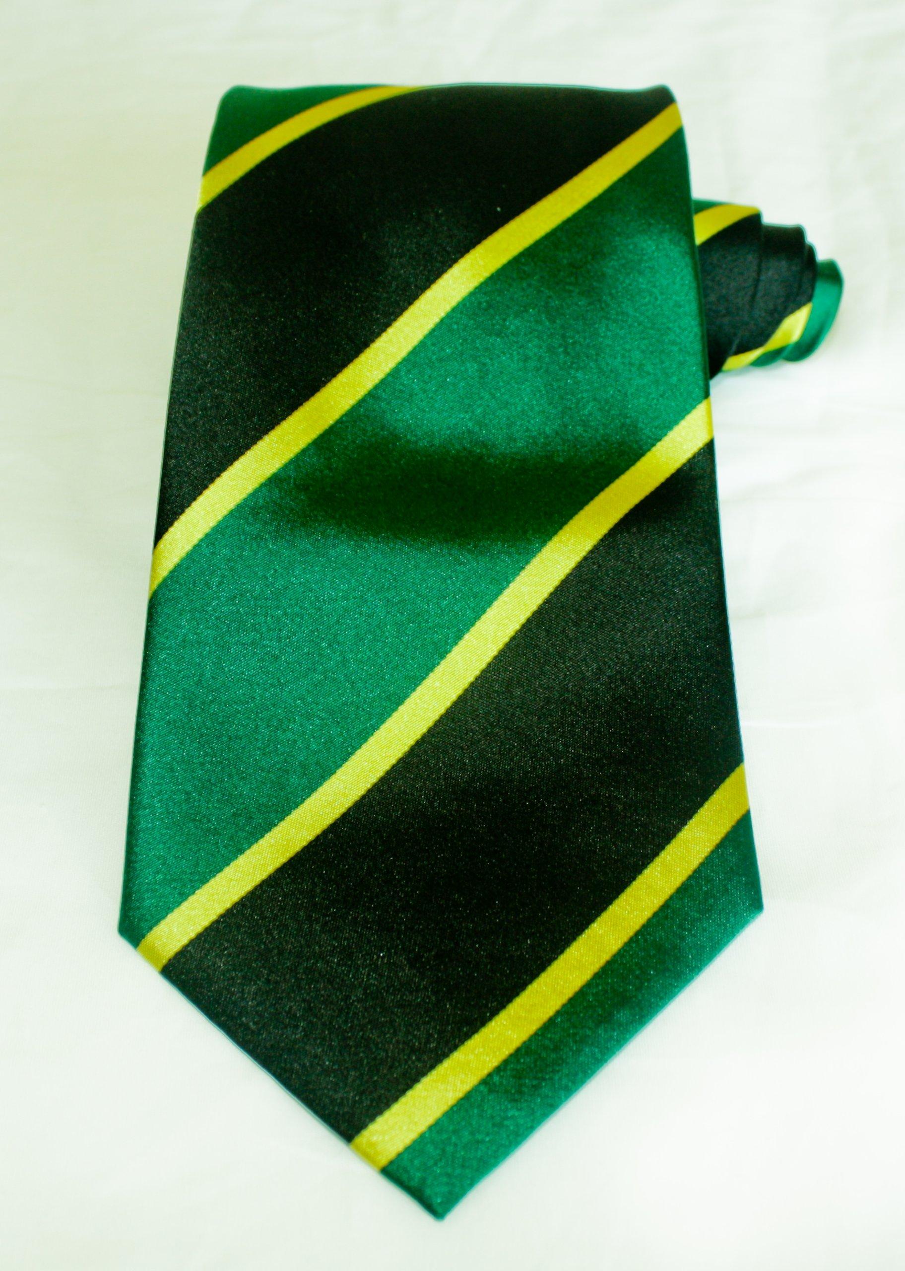 Winthrope Mo Randolph Mobay Green Jamaican Necktie