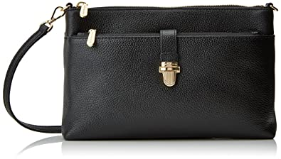 7157d4b999f8 MICHAEL Michael Kors KORS STUDIO Large Snap Pocket Crossbody Bag Black