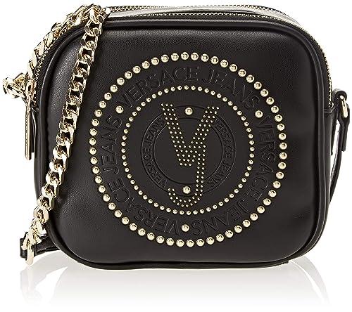Versace Jeans - Ee1vsbbr3, Carteras de mano Mujer, Negro (Nero), 7.5x15x16 cm (W x H L): Amazon.es: Zapatos y complementos