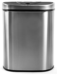 Sensor Mülleimer 60l Abfalleimer Küchenmülleimer Abfallbehälter Bewegungssensor