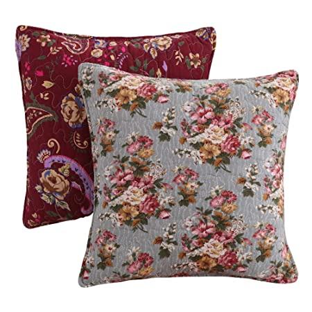 Botanical Pink Floor Pillow