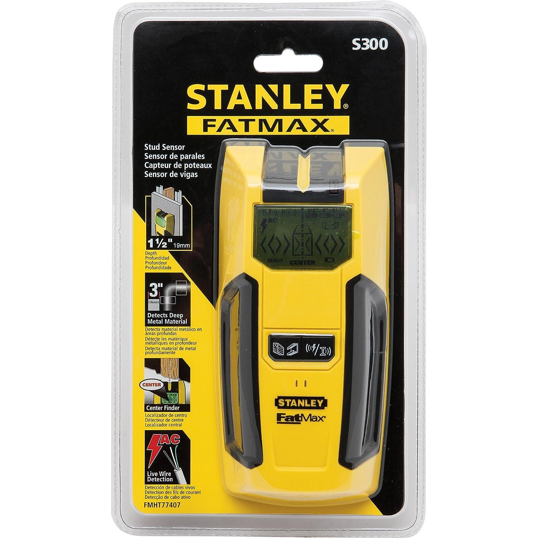 Stanley FMHT0-77407 Detector estructuras 300S, 9 V: Amazon.es: Bricolaje y herramientas